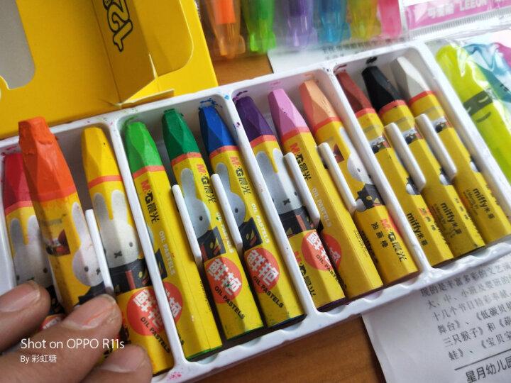 晨光(M&G)可爱船系列单头6色荧光笔 迷你办公学习标记笔记号笔 6支/盒AHM24401 晒单图