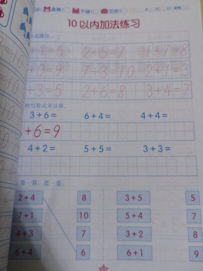 阳光宝贝 幼小衔接学前描红天天练 拼音描红2 晒单图