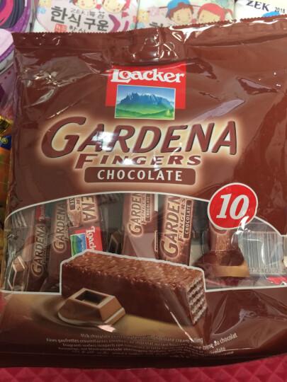 莱家(Loacker)莱家加迪纳可可巧克力手指饼 125g 晒单图