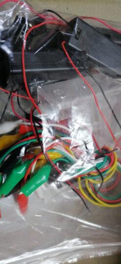 千水星 5号1节带线电池盒 1.5v黑色带导线塑料电池盒DIY模型电路电源配件玩具制作配件 1个 晒单图
