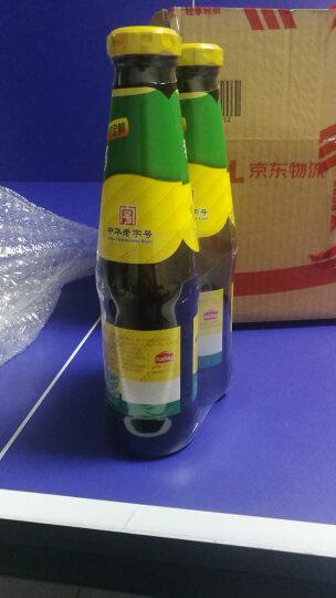 海天 上等蚝油 0脂肪凉拌炒菜火锅烧烤调料 520g*2瓶  晒单图