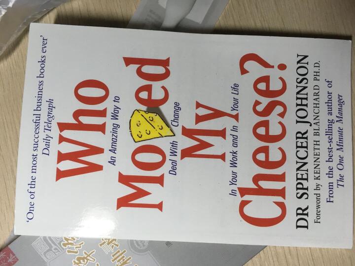 英文原版WHO MOVED MY CHEESE谁动了我的奶酪 斯宾塞·约翰逊 晒单图