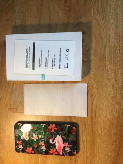 摩梵欧 苹果6s手机壳iPhone6/6s Plus玻璃后盖保护套防摔全包软壳男女款 火烈鸟-5.5英寸 晒单图