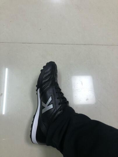 KELME卡尔美足球鞋袋鼠皮TF碎钉鞋K90 黑色 40 晒单图
