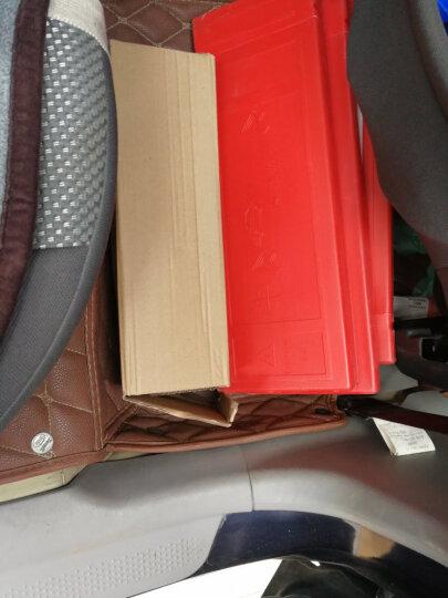 ANMA AM1103 汽车三角警示牌 警告牌三角牌 车用三脚架反光安全三角架 故障提示牌 带LED灯 红色 晒单图