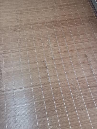 百富帝(byford)凉席竹席 可折叠双面碳化凉席竹藤席子双人1.5米床用 杭州镜面席(不含枕套) 晒单图