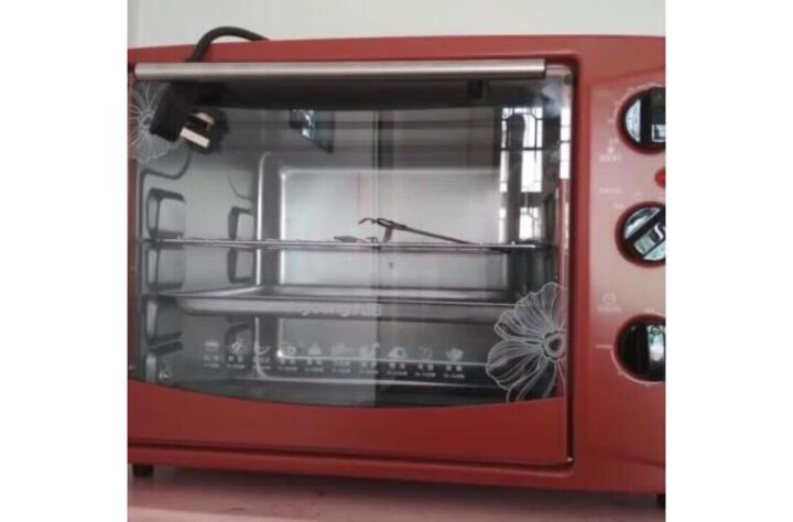 九阳(Joyoung)  家用多功能电烤箱 30升大容量 专业烘焙 易操作 精准温控60分钟定时 易清洗 KX-30J601 晒单图