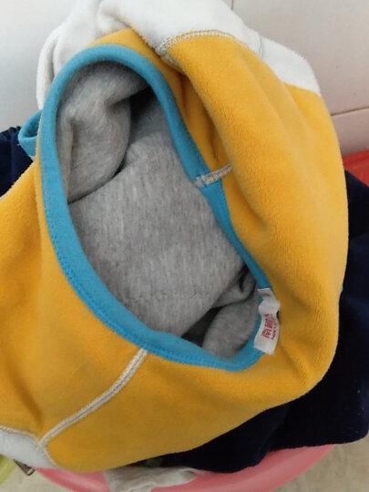 南极人儿童保暖内衣秋冬季男女儿童内衣加厚加绒黄金暖甲小孩子宝宝棉秋衣秋裤套装 女童玫红 160 晒单图