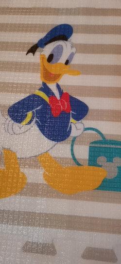迪士尼DISNEY 宝宝爬行垫婴儿拼接爬爬垫 泡沫拼图防滑地垫游戏毯加厚2CM 60*60cm(含边条) 晒单图