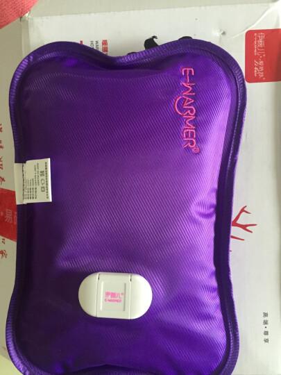 伊暖儿(e·warmer)福鹿USB+充电热水袋两用暖腰宝 暖腰带暖宫宝护腰带护宫 可拆洗加宽腰带 紫色 晒单图