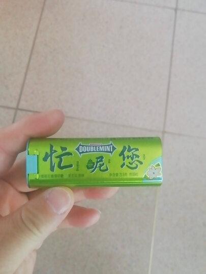 绿箭(DOUBLEMINT)无糖薄荷糖苹果薄荷味约35粒23.8g单盒金属装 办公室休闲零食 晒单图