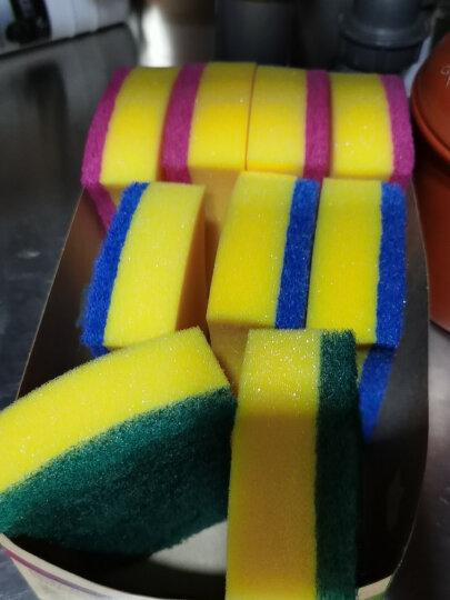 3M刷碗刷锅杯刷去油污思高海绵百洁布多功能组合装12片(通用型4片不粘锅4片玻璃制品4片) 晒单图