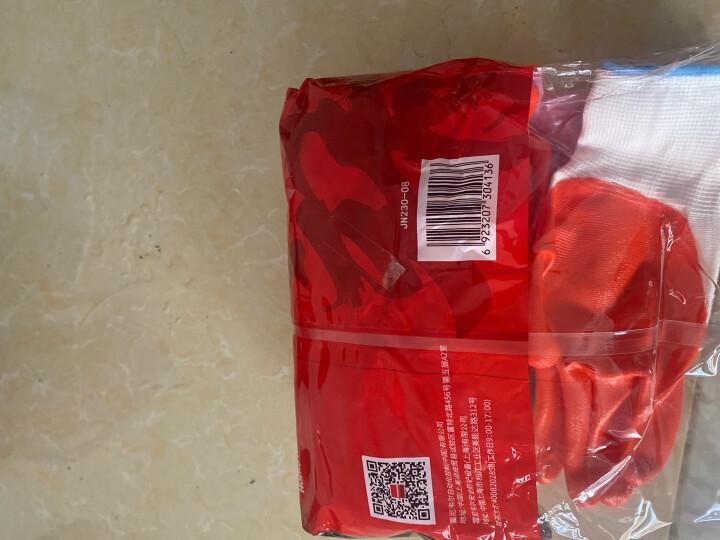 霍尼韦尔(Honeywell) 劳保手套 10副/包天然乳胶工作手套 掌浸防滑耐磨耐油机械防护手套YU138 8码誉系列 晒单图