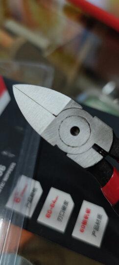 得力(deli) 迷你钳模型钳高达模型剪水口钳耳机维修工具电子剪钳电子钳4.5英寸 DL2705 晒单图