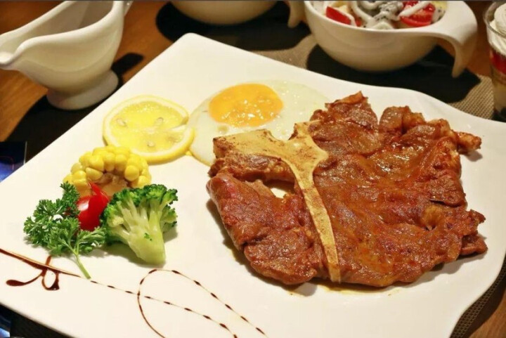 顶诺(DNUO) T骨牛排1片 185g 搭黑椒酱调理 晒单图