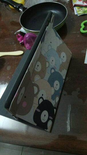 zoyu 苹果iPad mini4保护套 7.9英寸迷你4平板电脑卡通彩绘皮套休眠唤醒 动感方格 晒单图