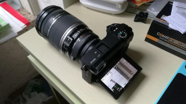 咔莱 微单 索尼 佳能 尼康单反相机 镜头 E 卡口转接环 尼康全幅镜头转E口相机自动对焦 晒单图