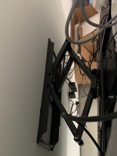 Brateck(37-80英寸)KMA28-466D电视挂架电视架电视支架壁挂电视机挂架旋转伸缩小米荣耀智慧屏索尼sony65/75 晒单图