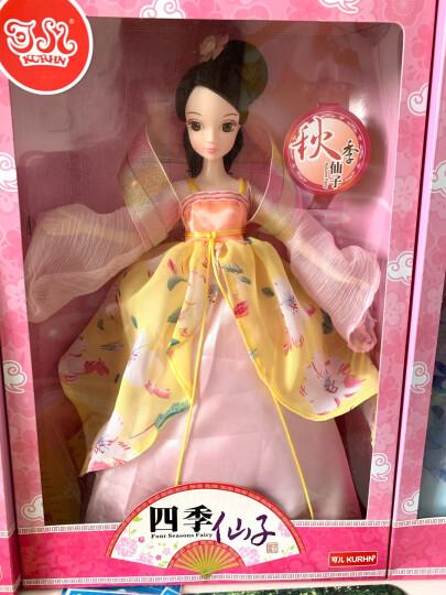 可儿娃娃古装衣服小娃娃女孩洋娃娃玩具生日礼物 可儿经典米妮造型粉色款6087 晒单图
