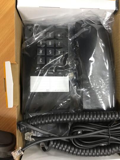 集怡嘉(Gigaset)原西门子品牌 电话机座机 固定电话 办公家用 免电池 桌墙两用可壁挂 802淡灰 晒单图
