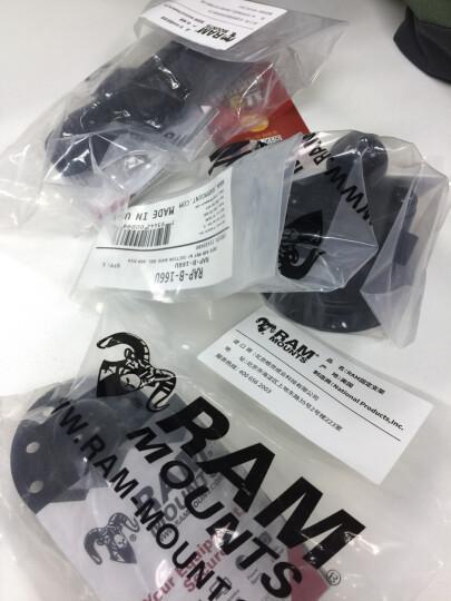 美国RAM 车载摄像机固定支架 户外摄像机 单反相机云台支架 车载吸盘式相机支架 标准1/4螺丝云台 15厘米套装 晒单图