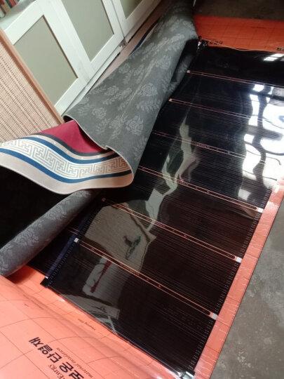 大友石墨烯电热膜地暖韩国电地暖安装家用地暖发热膜电热炕膜碳晶碳纤维电热膜高温瑜伽地热膜电暖炕膜 自己接线带辅材(定制不退换)) 晒单图