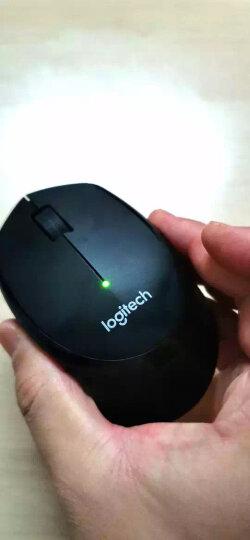 罗技(Logitech)M275(M280) 鼠标 无线鼠标 办公鼠标 右手鼠标 黑色 带无线2.4G接收器 晒单图