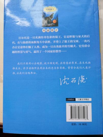 中外动物小说精品(升级版):雪国狼王 晒单图