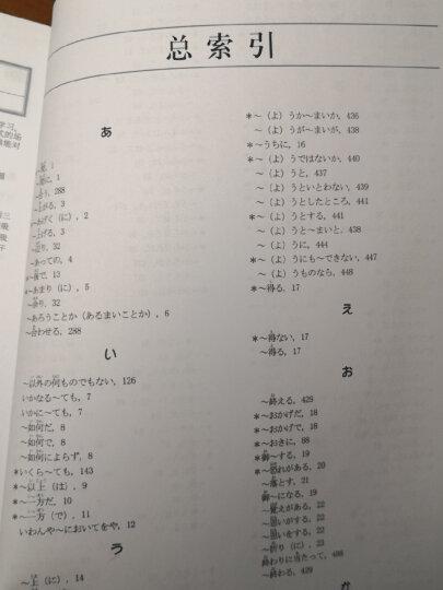 日语表达方式学习词典 晒单图