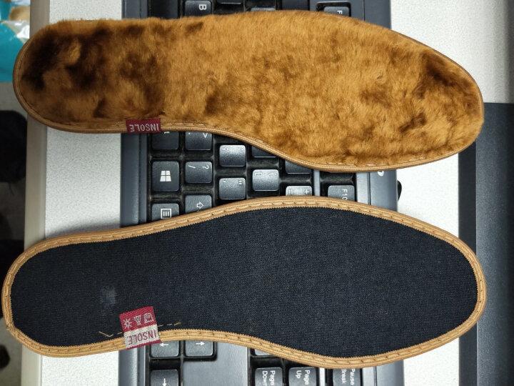 优唯美 2双装珍誉系列竹炭长短绒保暖鞋垫37码 ZY6261 晒单图