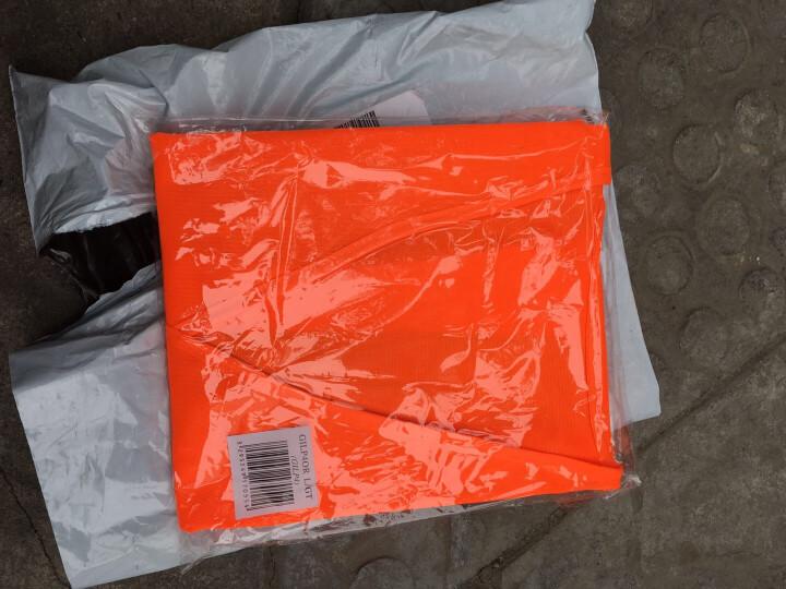 代尔塔旗舰店 荧光马甲 反光背心 梭织舒适透气带魔术贴404401 404402 橙色 L 晒单图