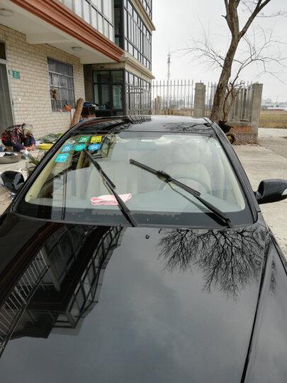 卡卡买水晶雨刮器/雨刷器/雨刮片无骨(买1送1,2对装)福特新福克斯直插接口/GL8 陆尊17后/汽车A级胶条28/28 晒单图