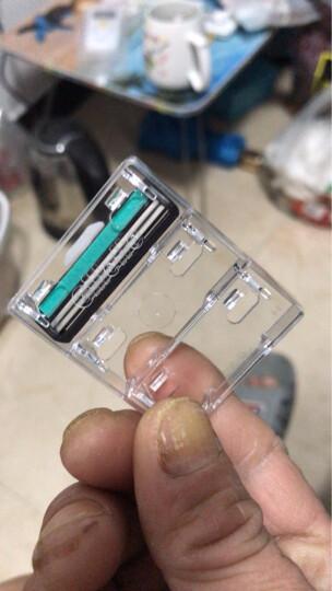 吉列(Gillette) 手动剃须刀刮胡刀刀片 威锋旋转双层(5刀头 此商品不含刀架) 晒单图