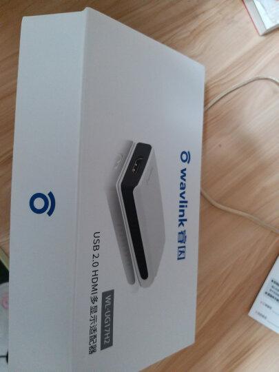 睿因(WAVLINK)USB转HDMI/DVI显卡扩屏器高清外置分屏器1080P高清视频转换器多屏器 晒单图