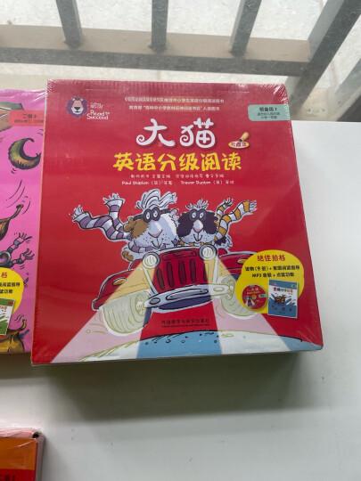 大猫英语自然拼读一级1 Big Cat Phonics(小学一年级 读物6册+家庭阅读指导1册+拼读卡 点读版 附MP3光盘1张) 晒单图