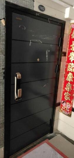 圣甲(SHENGJIA)甲级防盗门安全门 子母门 别墅大门 钢质户外入户门进户门 C级锁芯现货可定制 2050*960左外开 晒单图