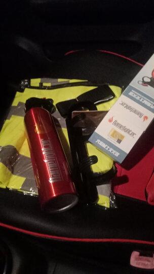 FlameFighter灭火器车用车载汽车警示牌反光 安全自驾车载应急救援套装反光背心车用 灭火器+反光衣+拖车绳 晒单图