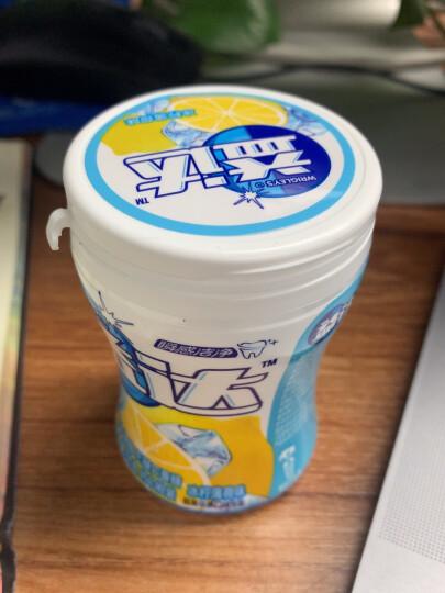 益达(Extra)木糖醇无糖口香糖冰柠薄荷约40粒56g单瓶装办公室休闲零食(新旧包装随机发) 晒单图
