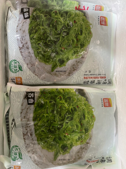 盖世 大连调味裙带菜500g即食海藻沙拉海藻丝 中华海草 麻辣味 晒单图