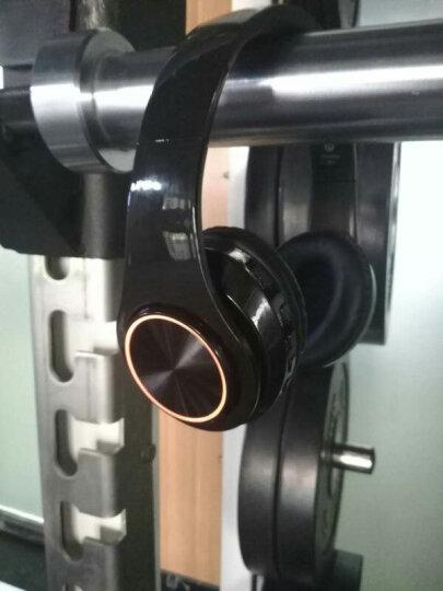 奇联 BH3耳机头戴式蓝牙无线降噪重低音运动游戏手机电脑通用耳麦 纯黑色 晒单图