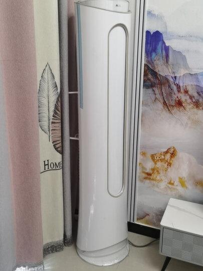奥克斯空调立式2匹/3匹p新二级变频客厅卧室圆柱立式空调柜机家用冷暖节能静音 独立除湿省电 旗舰店 大2匹变频冷暖 晒单图