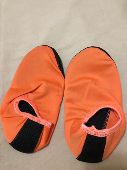 沙滩袜潜水装备情侣潜水袜浮潜三宝沙滩袜男女成人儿童速干冲浪浮潜袜潜水鞋 蓝色(请备注鞋子码数) XL(39-41) 晒单图