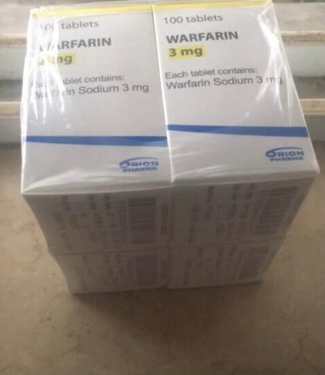 Orion Marevan 华法林钠片 3mg*100片*1瓶/盒 晒单图