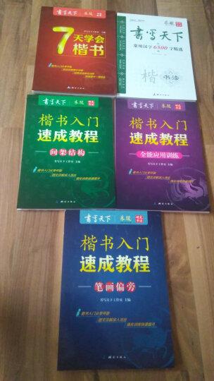 楷书入门速成教程钢笔字帖套装(套装共5册) 晒单图