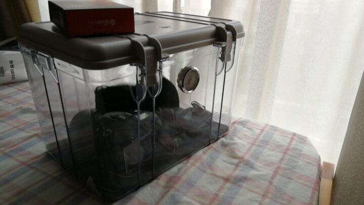 锐玛(EIRMAI) R20 单反相机防潮箱 镜头收纳箱 相机干燥箱 大号,送大号吸湿卡 炫灰色 晒单图