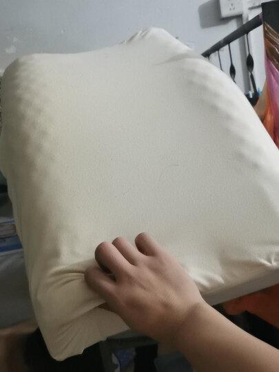 睡眠博士(AiSleep)枕头 臻梦释压按摩泰国乳胶枕进口天然乳胶枕 成人睡眠枕颈椎枕芯 90%乳胶含量 晒单图
