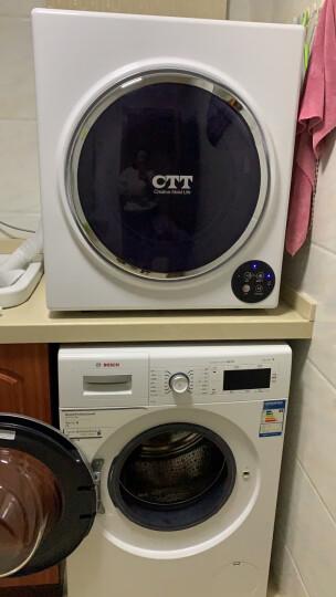CTT 干衣机 干衣容量5公斤 功率1300瓦 智能四按键 衣干即停 滚筒烘干机家用 GYJ50-98E 晒单图