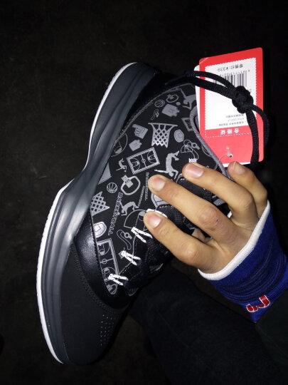 安踏篮球鞋男鞋汤普森kt4气垫鞋2020秋季官网高帮皮面运动鞋 -10黑/大学红 44.5 晒单图