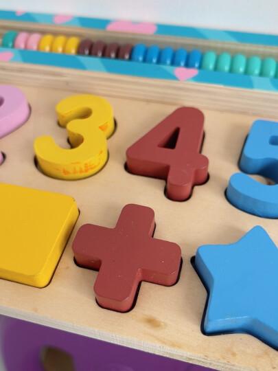 丹妮奇特 木制钓鱼游戏儿童益智玩具拼图拼板双杆大号宝宝启蒙早教益智3-6岁宝宝生日新年礼物-8128 晒单图