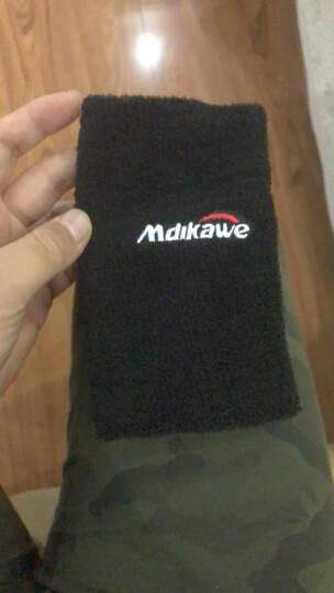 曼迪卡威夏季男女运动护肘 吸汗护臂 保暖护腕 黑色 17CM 晒单图